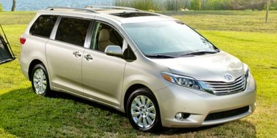 2017 Toyota Sienna FWD LE, Service Vehicle