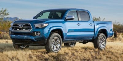 2017 Toyota Tacoma Limited, Brown Leather, Sunroof, Wireless Charging, Clearance Sensors