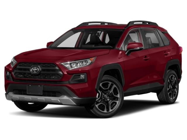 2019 Toyota RAV4 AWD Trail, Two Tone Exterior, Black Roof Rails